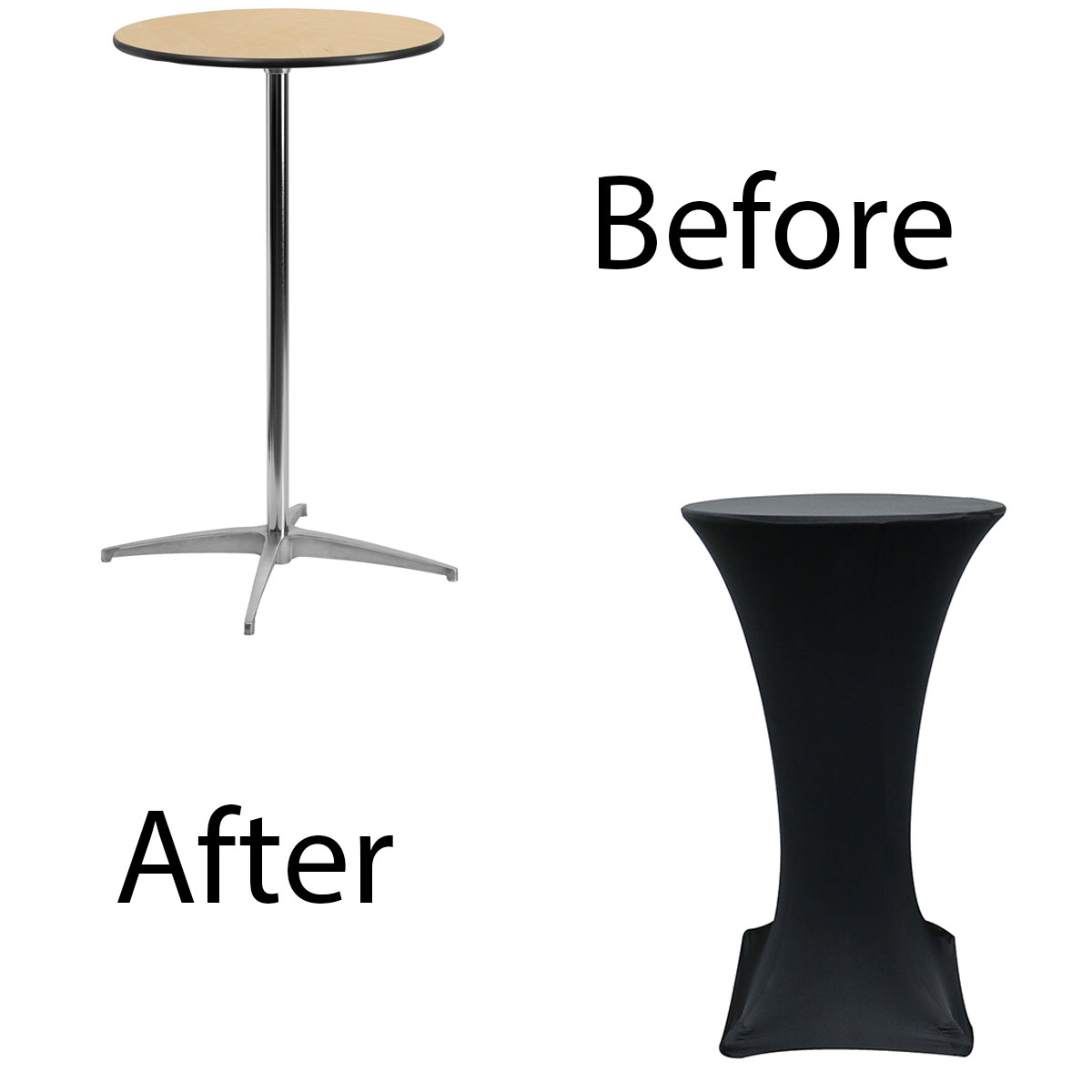 24-inch-highboy-cocktail-spandex-table-covers-black-before-after.jpg