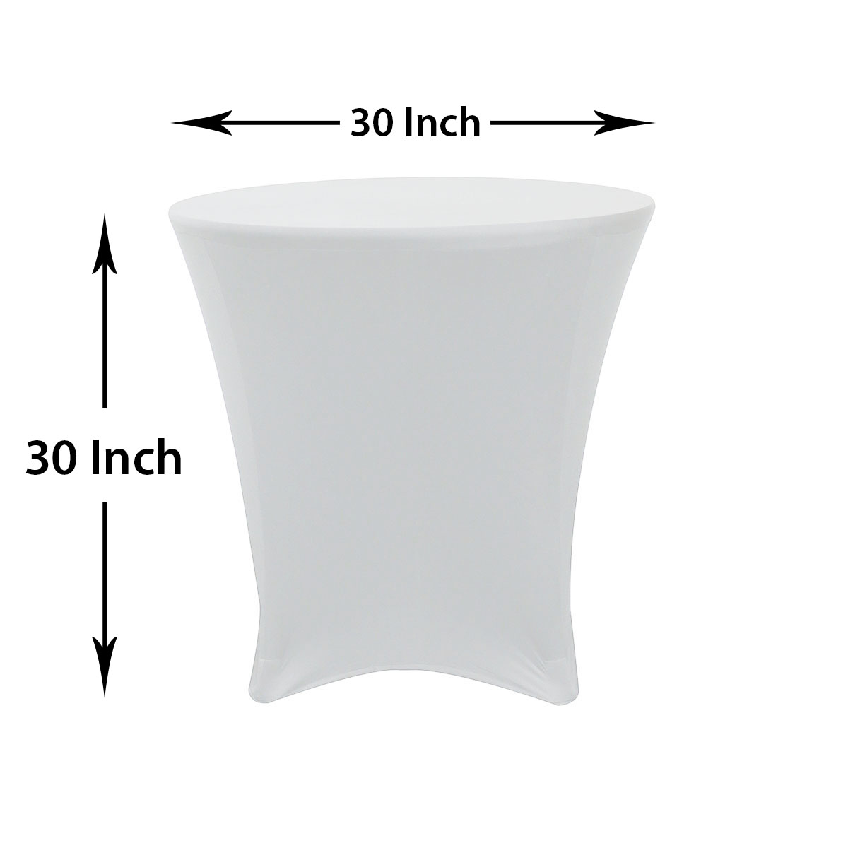 ... 30 30 Inch Lowboy Cocktail Spandex Table Covers
