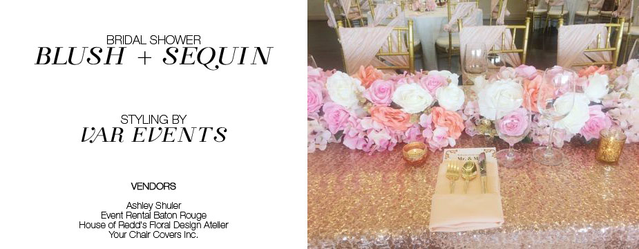 Stupendous Photos Beautiful Blush And Sequin Bridal Shower By Var Alphanode Cool Chair Designs And Ideas Alphanodeonline