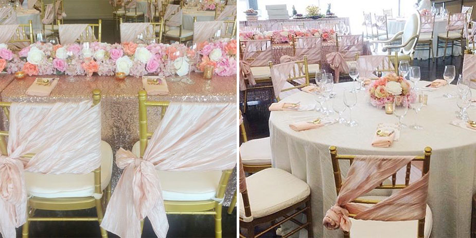 Cool Photos Beautiful Blush And Sequin Bridal Shower By Var Alphanode Cool Chair Designs And Ideas Alphanodeonline